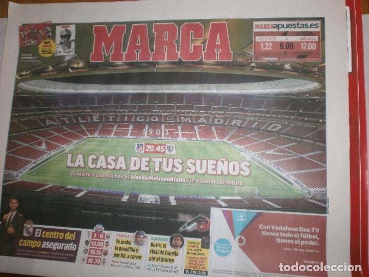 INAUGURACIÓN WANDA METROPOLITANO DEL ATLÉTICO DE MADRID (Coleccionismo Deportivo - Revistas y Periódicos - Marca)