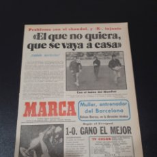 Collectionnisme sportif: MARCA. 11/05/1978. FINAL COPA EUROPA. LIVERPOOL,1 - BRUJAS,0.. Lote 119883960