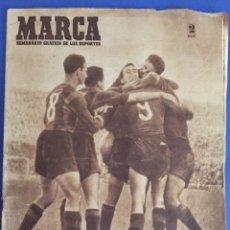 Coleccionismo deportivo: MARCA.19/4/1949.EL BARCELONA, CAMPEÓN DE LIGA. Lote 119959196