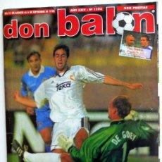 Coleccionismo deportivo: DON BALON Nº1194 POSTER DJALMINHA DEPORTIVO LA CORUÑA REAL MADRID CHELSEA SUPERCOPA EUROPA FÚTBOL. Lote 119960735