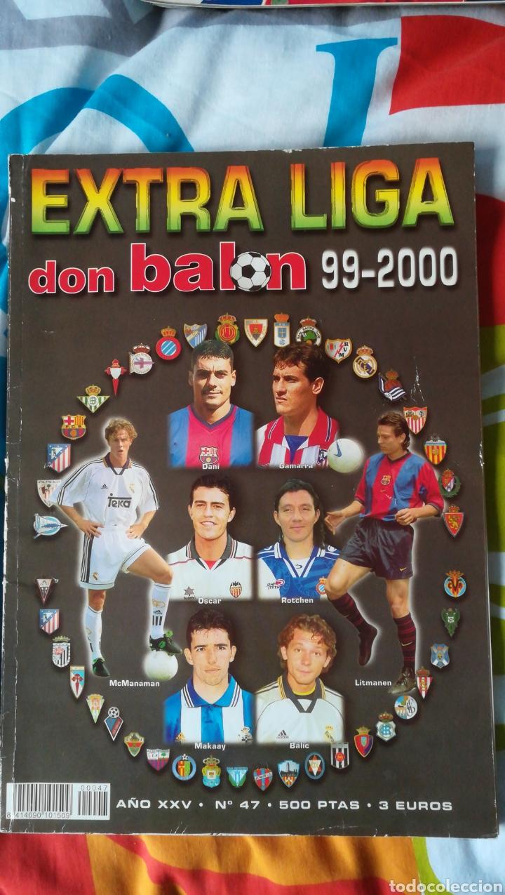 DON BALON NÚMERO 47 EXTRA LIGA 99/00 1999 2000 (Coleccionismo Deportivo - Revistas y Periódicos - Don Balón)