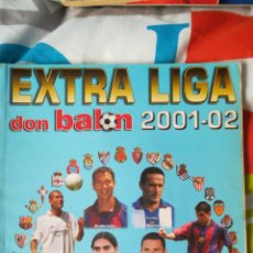 Coleccionismo deportivo: DON BALON NÚMERO 55 EXTRA LIGA 01/02 2001 2002. Lote 120123496