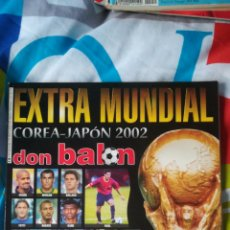 Coleccionismo deportivo: DON BALON EXTRA MUNDIAL COREA JAPÓN 2002. Lote 120124164