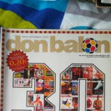Coleccionismo deportivo: DON BALON NÚMERO 1565 ESPECIAL 30 AÑOS. Lote 120126911