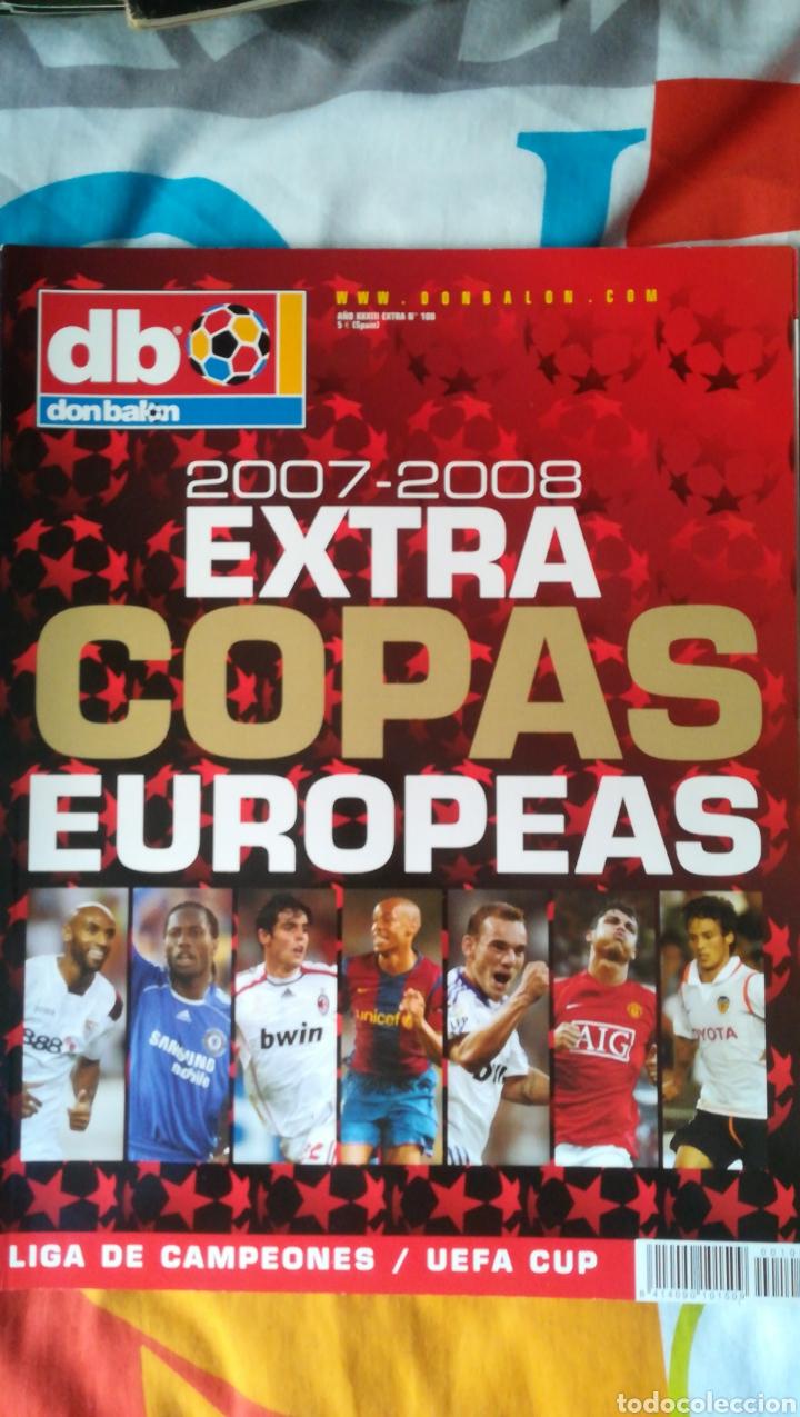 DON BALON NÚMERO 100 EXTRA COPAS EUROPEAS 2007/2008 (Coleccionismo Deportivo - Revistas y Periódicos - Don Balón)