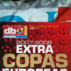 Coleccionismo deportivo: DON BALON NÚMERO 100 EXTRA COPAS EUROPEAS 2007/2008. Lote 120129227