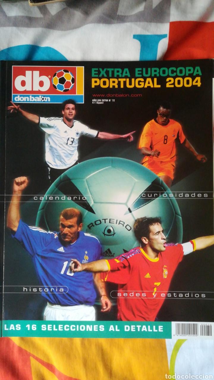DON BALON NÚMERO 72 EXTRA EURO PORTUGAL 2004 (Coleccionismo Deportivo - Revistas y Periódicos - Don Balón)