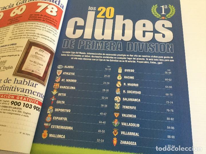 Coleccionismo deportivo: Revista Anuario Marca Guía Liga 98/99 Edita Recoletos - Foto 6 - 120368703