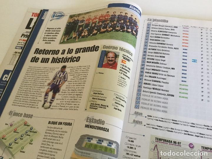 Coleccionismo deportivo: Revista Anuario Marca Guía Liga 98/99 Edita Recoletos - Foto 7 - 120368703