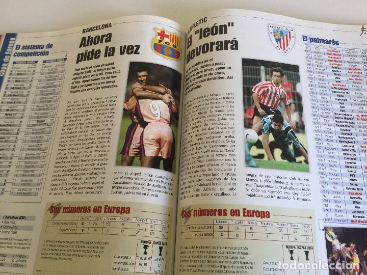 Coleccionismo deportivo: Revista Anuario Marca Guía Liga 98/99 Edita Recoletos - Foto 15 - 120368703