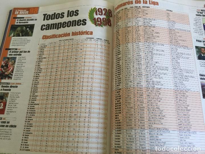 Coleccionismo deportivo: Revista Anuario Marca Guía Liga 98/99 Edita Recoletos - Foto 16 - 120368703