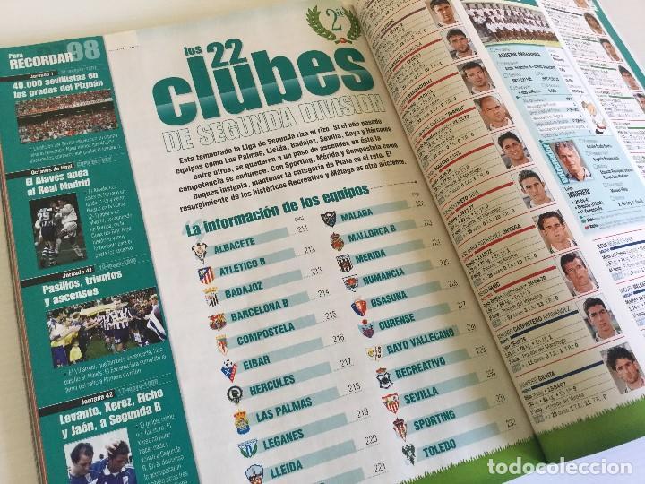 Coleccionismo deportivo: Revista Anuario Marca Guía Liga 98/99 Edita Recoletos - Foto 18 - 120368703