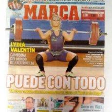 Coleccionismo deportivo: MARCA, LYDIA VALENTIN CAMPEONA DEL MUNDO. Lote 120381883