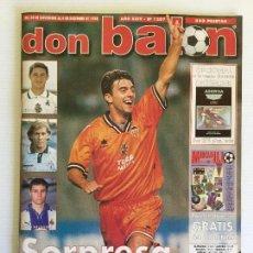 Coleccionismo deportivo: REVISTA DON BALÓN 1998 Nº1207 VALENCIA CF + PÓSTER + ESPECIAL MERCADILLO. Lote 120773419