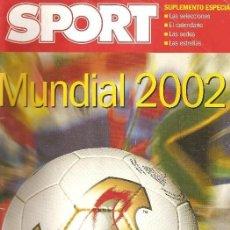 Coleccionismo deportivo: EXTRA MUNDIAL 2002 COREA JAPON - SIN USAR STOCK DE KIOSKO -. Lote 120828319