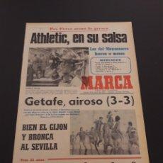 Colecionismo desportivo: MARCA. 19/01/1978. COPA. ATLÉTICO,1 - BILBAO,2. BURGOS,3 - BETIS,2. R.SOCIEDAD,2 - R.MADRID,0.. Lote 121135871