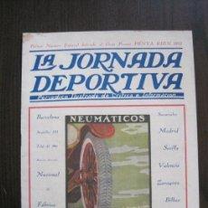 Collectionnisme sportif: JORNADA DEPORTIVA-AUTOMOVILES - ESPECIAL PENYA RHIN -AÑO 1921 -VER FOTOS-(V-14.549). Lote 121175295