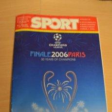 NUMERO ESPECIAL PREVIO A LA FINAL DE CHAMPIONS LEAGUE 2006.FC BARCELONA VS ARSENAL