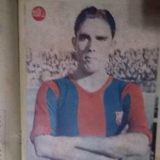 Coleccionismo deportivo: MAGNIFICO LOTE ENCUADERNADO Nº 2 SEMANARIO GRAFICO MARCA AÑO 1942 VER FOTOS. Lote 121591695