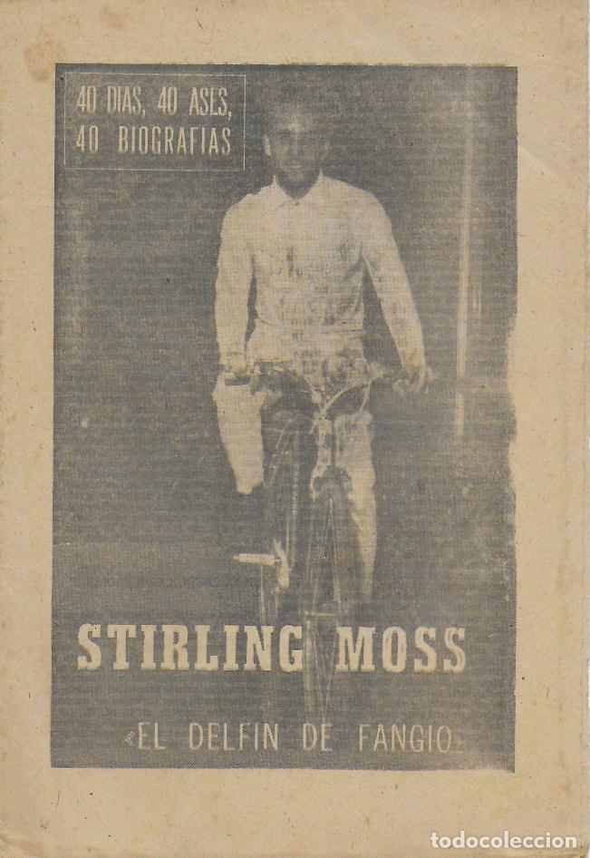 STIRLING MOSS. EL DELFÍN DE FANGIO. ( CICLISMO ). MARCA, 12 AGOSTO 1964. 24X16 CM. 8 P. (Coleccionismo Deportivo - Revistas y Periódicos - Marca)