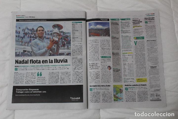 Coleccionismo deportivo: DIARIO MARCA.REAL MADRID CAMPEÓN EUROLIGA BALONCESTO 2018. FINAL LA LIGA Y RETIRADA INIESTA Y TORRES - Foto 9 - 121899459