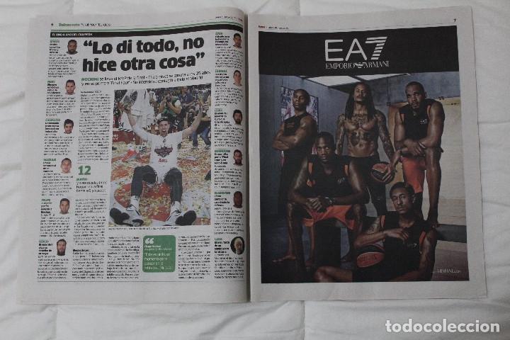 Coleccionismo deportivo: Diario MARCA. POR FIN LA NOVENA! REAL MADRID CAMPEÓN DE LA EUROLIGA 2015 BALONCESTO LA LIGA DE MESSI - Foto 4 - 51360619