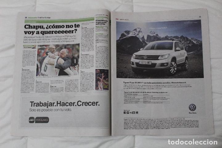 Coleccionismo deportivo: Diario MARCA. POR FIN LA NOVENA! REAL MADRID CAMPEÓN DE LA EUROLIGA 2015 BALONCESTO LA LIGA DE MESSI - Foto 5 - 51360619