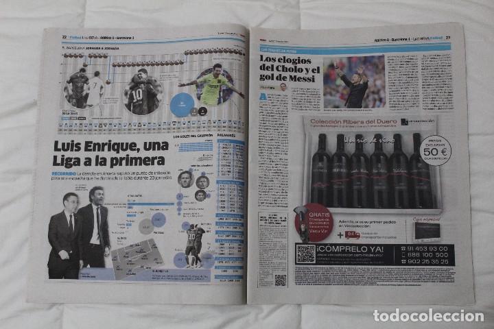 Coleccionismo deportivo: Diario MARCA. POR FIN LA NOVENA! REAL MADRID CAMPEÓN DE LA EUROLIGA 2015 BALONCESTO LA LIGA DE MESSI - Foto 7 - 51360619