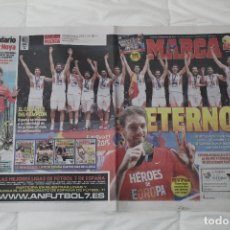 Coleccionismo deportivo: DIARIO MARCA. 23/09/2015 ESPAÑA CAMPEÓN DE EUROPA BALONCESTO 2015. Lote 51882898