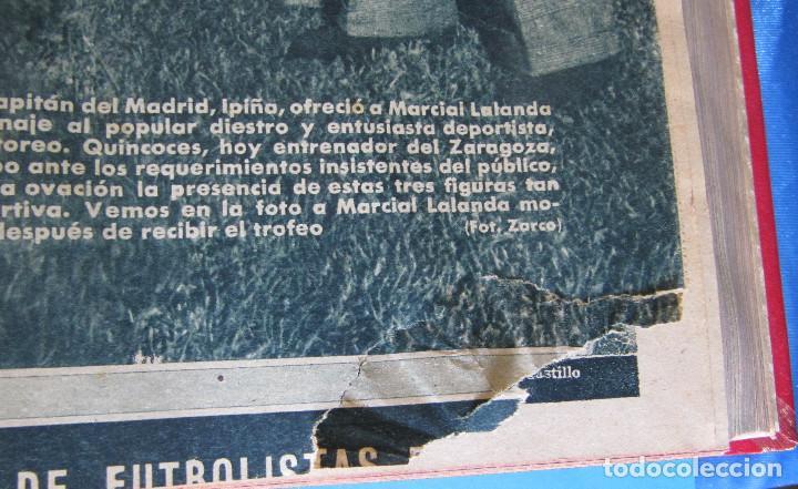 Coleccionismo deportivo: MARCA. SEMANARIO GRÁFICO DE LOS DEPORTES. 41 NÚMEROS EN UN SOLO VOLUMEN, 1942 1943. - Foto 2 - 122100175