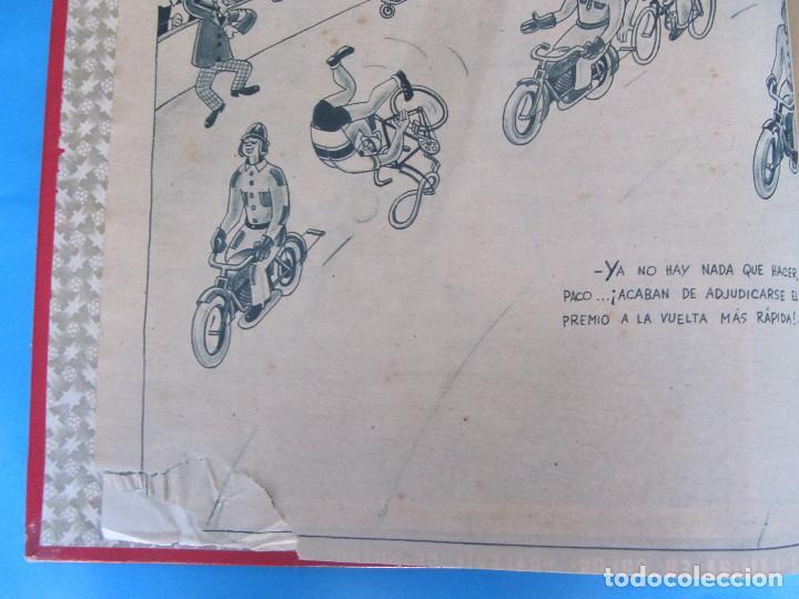 Coleccionismo deportivo: MARCA. SEMANARIO GRÁFICO DE LOS DEPORTES. 41 NÚMEROS EN UN SOLO VOLUMEN, 1942 1943. - Foto 3 - 122100175
