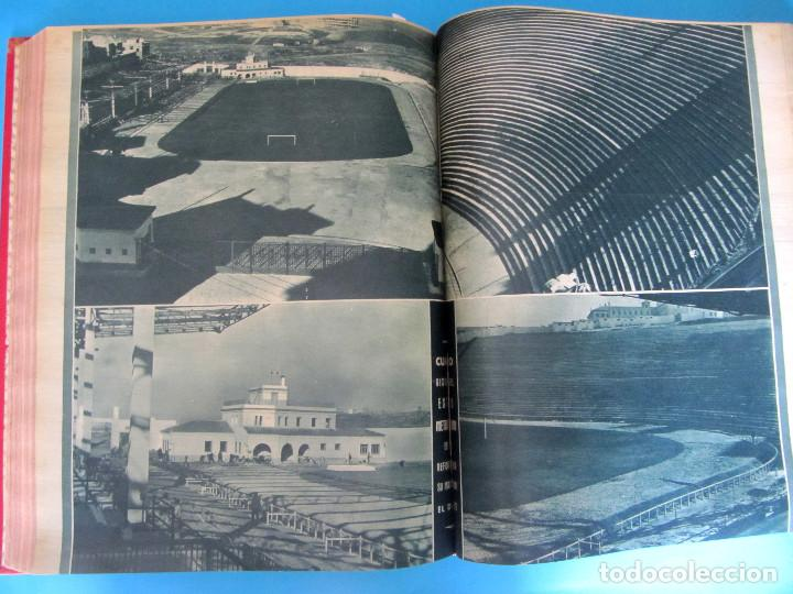 Coleccionismo deportivo: MARCA. SEMANARIO GRÁFICO DE LOS DEPORTES. 41 NÚMEROS EN UN SOLO VOLUMEN, 1942 1943. - Foto 7 - 122100175
