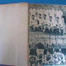 Coleccionismo deportivo: MARCA. SEMANARIO GRÁFICO DE LOS DEPORTES. 42 NÚMEROS EN UN SOLO VOLUMEN, 1943 1944.. Lote 122115391