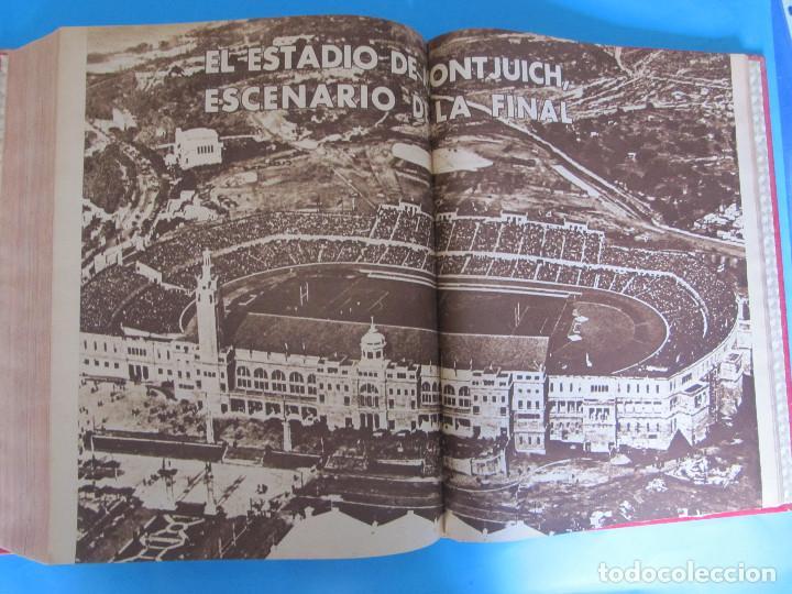 Coleccionismo deportivo: MARCA. SEMANARIO GRÁFICO DE LOS DEPORTES. 42 NÚMEROS EN UN SOLO VOLUMEN, 1943 1944. - Foto 5 - 122115391