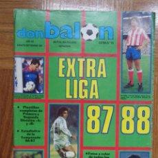 Coleccionismo deportivo: DON BALÓN EXTRA LIGA 87 88. Lote 133391867