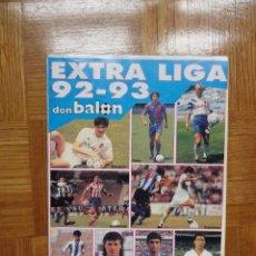 Coleccionismo deportivo: DON BALÓN EXTRA LIGA 92 93. Lote 122232939