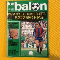 Coleccionismo deportivo: DON BALÓN NÚMERO 30 CRUYFF. Lote 122274659