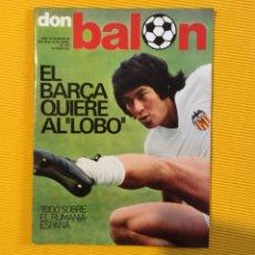 Coleccionismo deportivo: DON BALÓN NÚMERO 80 CRUYFF. Lote 122274971