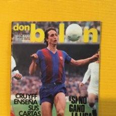 Coleccionismo deportivo: DON BALÓN NÚMERO 94 CRUYFF. Lote 171217469