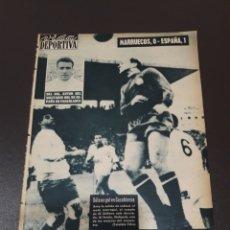 Coleccionismo deportivo: VIDA DEPORTIVA. 13/11/1961. MARRUECOS,0 - ESPAÑA,1.. Lote 122444848
