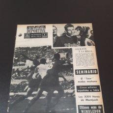 Coleccionismo deportivo: VIDA DEPORTIVA. 13/07/1964. TOUR. JULIO JIMENEZ VENCEDOR ETAPA BRIVE - CLERMONT.. Lote 122445646