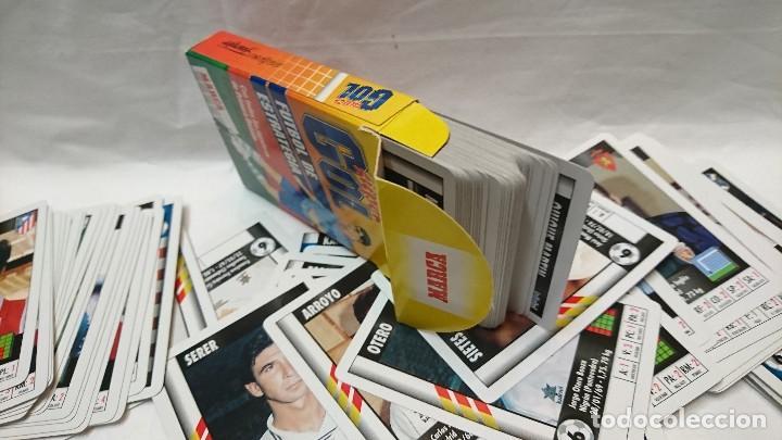 Coleccionismo deportivo: CARTAS COLECCIÓNABLES SUPER GOL, FÚTBOL, 131 DIFERENTES - Foto 3 - 122480679