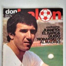 Coleccionismo deportivo: DON BALÓN: EXCLUSIVA SOBRE JUANITO. Lote 122520131