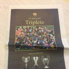 Coleccionismo deportivo: LÁMINAS SPORT DEL FC BARCELONA. Lote 122710187