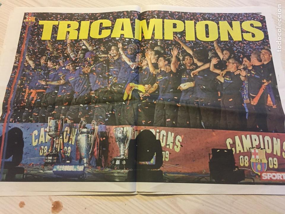 Coleccionismo deportivo: Láminas sport del fc Barcelona - Foto 2 - 122710187