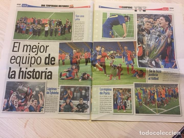 Coleccionismo deportivo: Láminas sport del fc Barcelona - Foto 3 - 122710187
