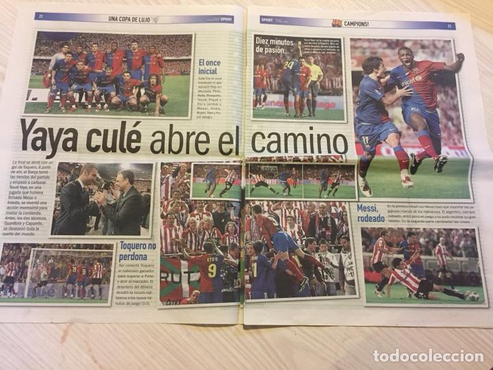 Coleccionismo deportivo: Suplemento periódico sport - Foto 2 - 122712159