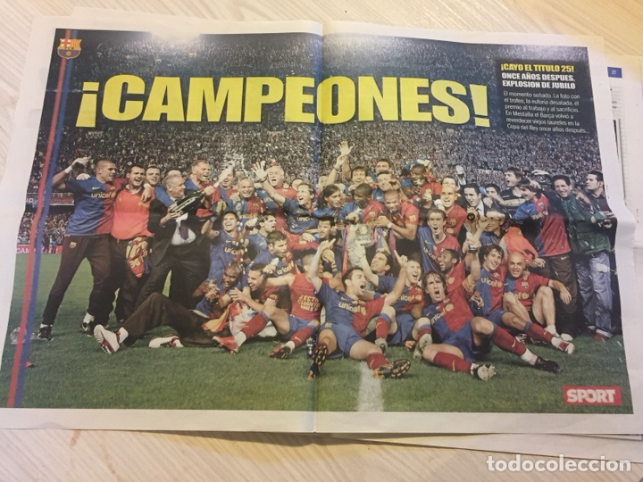 Coleccionismo deportivo: Suplemento periódico sport - Foto 3 - 122712159