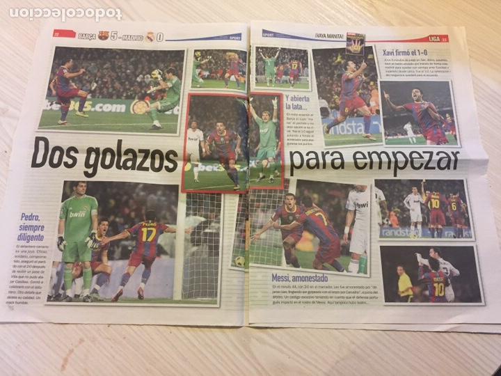 Coleccionismo deportivo: Suplemento periódico sport - Foto 2 - 122712370