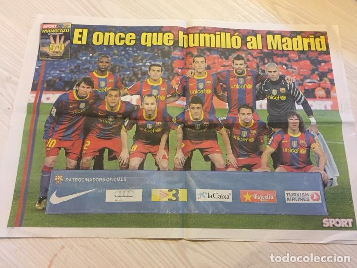 Coleccionismo deportivo: Suplemento periódico sport - Foto 3 - 122712370